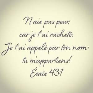 Esaie 43